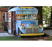 Ice Cream Bus Photographic Print
