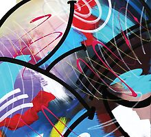 Sealed With a Twist Abstract by Mark Compton by Mark Compton