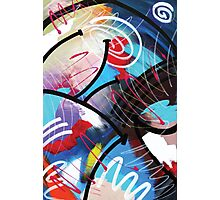 Sealed With a Twist Abstract by Mark Compton Photographic Print