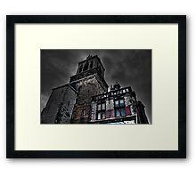 Haunted Mansion HDR Framed Print