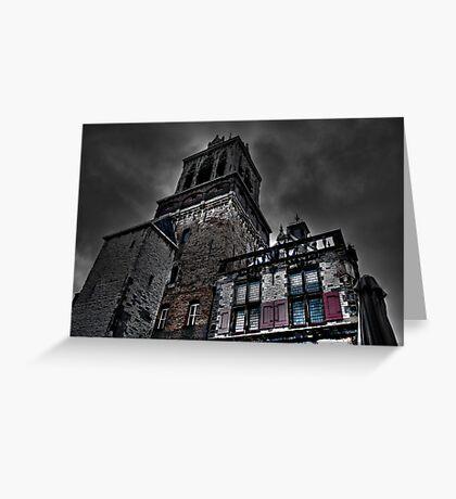 Haunted Mansion HDR Greeting Card