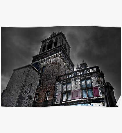 Haunted Mansion HDR Poster