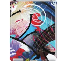 Sealed With a Twist Abstract by Mark Compton iPad Case/Skin