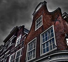 Old Dutch houses HDR by mattijs