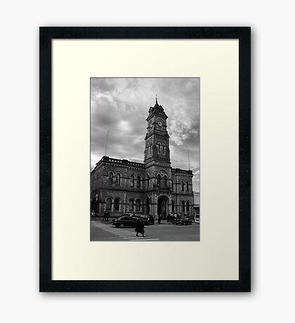 Ten forty five Framed Print