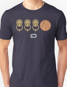 Knock Knock Knock Penny^3 Unisex T-Shirt