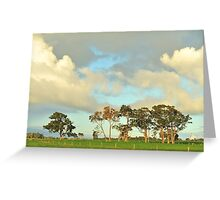 remnant red gums Greeting Card