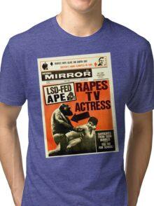Shock the Monkey Tri-blend T-Shirt