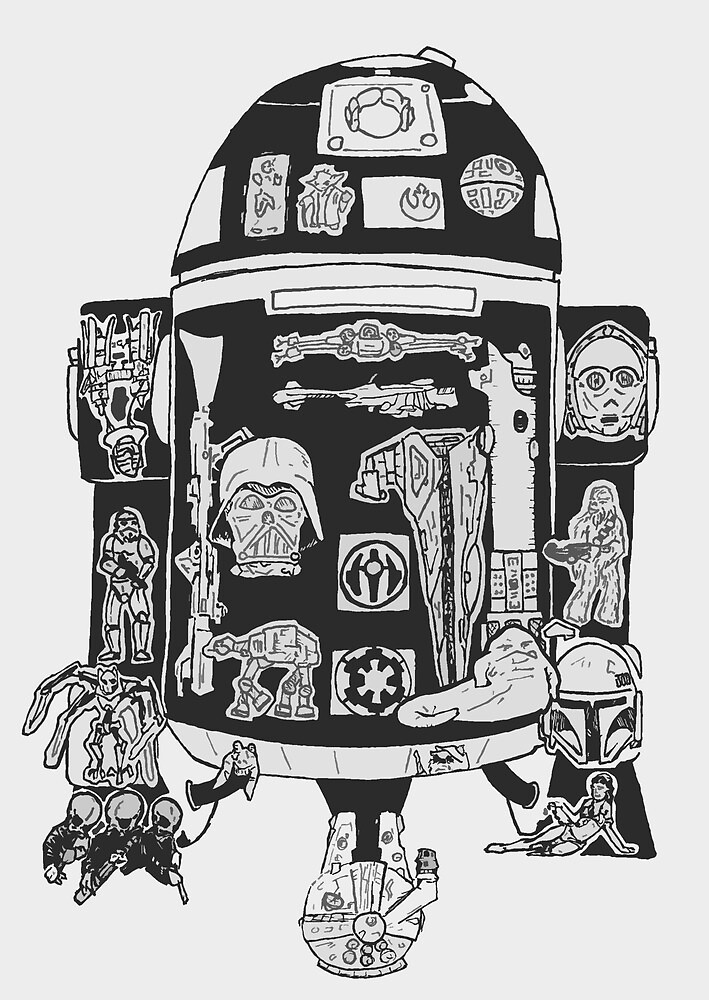 R2-D2 by creativecurran