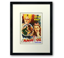 Italian poster of The Wizard of Oz Framed Print