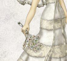 Lace Bride I Sticker