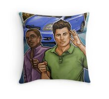 Psyched Throw Pillow
