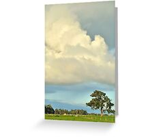 remnant red gum Greeting Card