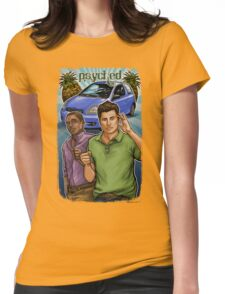 Psyched Womens Fitted T-Shirt