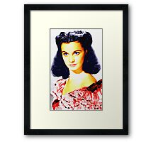 Vivien Leigh in Gone with the Wind Framed Print