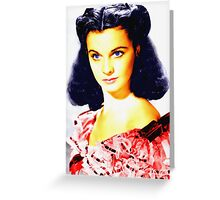 Vivien Leigh in Gone with the Wind Greeting Card