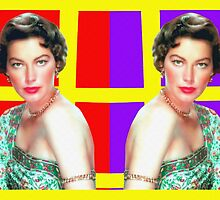 Ava Gardner in Bhowani Junction by Art Cinema Gallery