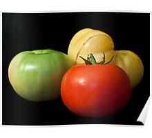 Tomato Trio Poster