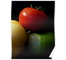Trio of Tomatoes Poster