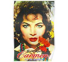 Argentinian poster of Carmen la de Ronda Poster