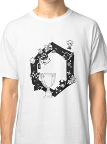 Mario Kart Block and White Classic T-Shirt