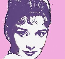 Audrey Hepburn by Art Cinema Gallery