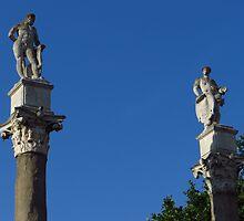 Caesar & Hercules, Alameda, Sevilla by wiggyofipswich