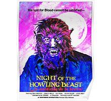 English-USA poster of La maldición de la bestia Poster