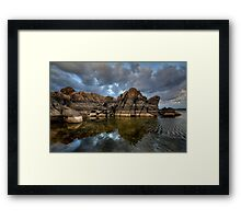 Cloud Breaker Framed Print