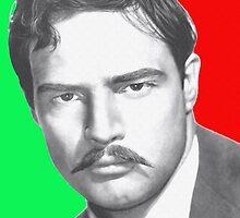Marlon Brando in Viva Zapata! by Art Cinema Gallery
