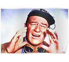 John Wayne in Hatari! Poster