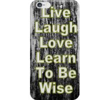 Live Love iPhone Case iPhone Case/Skin