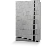 Abstract Architecture # 45 Greeting Card