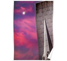 Buildings at Dusk Poster