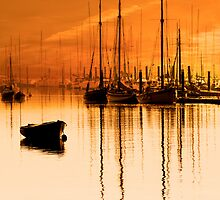 Tall Ships At Dawn by Darren Burroughs