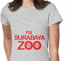Fix Surabaya Zoo 2 Womens Fitted T-Shirt