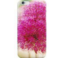Garlic in Action (vertical) iPhone Case/Skin