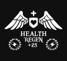 Health Regen + 25 RPG shirt by pixelpatch