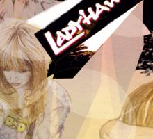 Ladyhawke's World Sticker