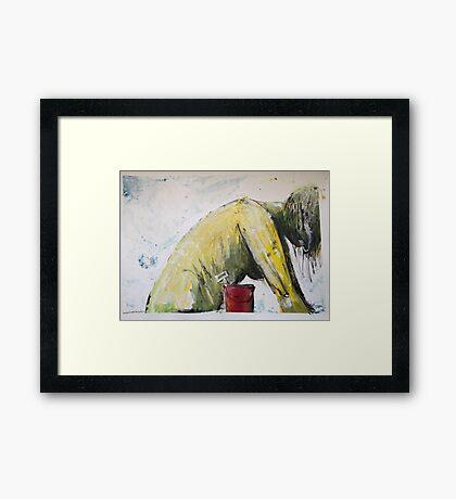 Bucket & Spade Framed Print