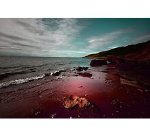 THE OCEAN IN MY BLOOD Photographic Print