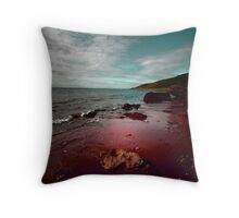 THE OCEAN IN MY BLOOD Throw Pillow