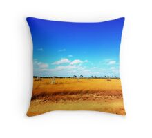The Colours of Cape York Throw Pillow