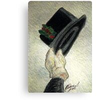 Hats Off To The Holidays Canvas Print