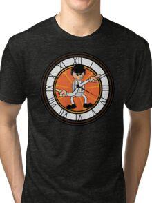This clock works Tri-blend T-Shirt