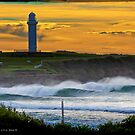 Wollongong City Beach-stacked by 16images