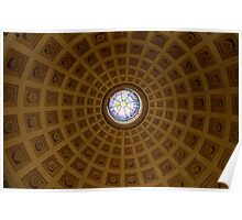 The dome of St. Mary of the Angels Poster