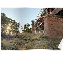 Tenterfield Creek Railway Bridge Poster