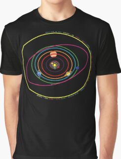 Solar System 2 Graphic T-Shirt