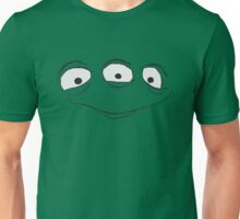 Alien Face Unisex T-Shirt